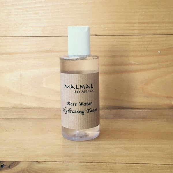 Rose water hydrating toner